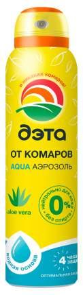 Аэрозоль Дэта Аква от комаров, мошек, слепней, мокрецов, нанесение на кожу, 150мл