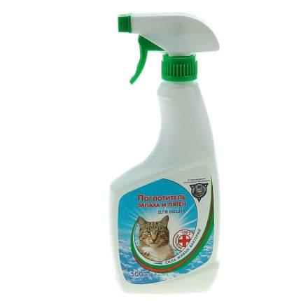Поглотитель запаха и пятен Барсик , для кошек, 500 мл