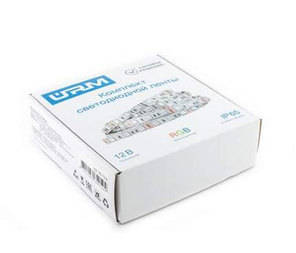Комплект светодиодной ленты SMD 5050, 60 LED, 12 В, 14.4Вт, 840 лм, IP65, RGB