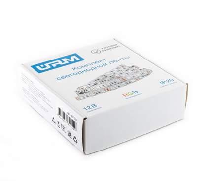 Комплект светодиодной ленты SMD 5050, 60 LED, 12 В, 14.4Вт, 840 лм, IP20, RGB, 5 м