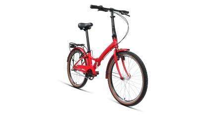 """Велосипед Forward Enigma 24 3.0 AL 2020 14"""" красный матовый/белый"""