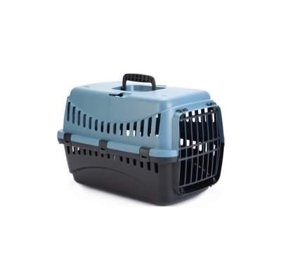 Переноска для животных Beeztees Gypsy, черно-голубой, 46x31x32 см