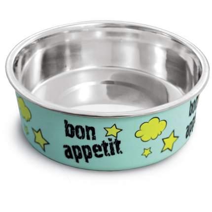 Миска металлическая на резинке Triol Bon Appetit, 150 мл