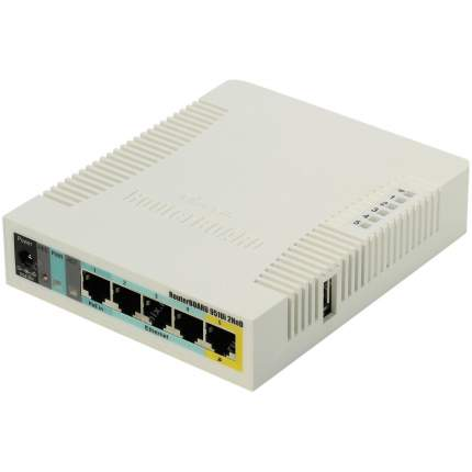 Wi-Fi роутер Mikrotik RB951Ui-2HnD White