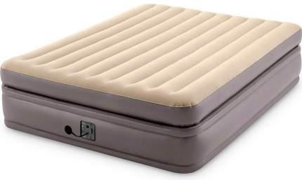 Надувная кровать Prime Comfort Elevated 152х203х51см, встроенный насос 220V (Intex) 64164