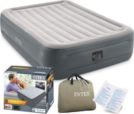 Надувная кровать Essential Rest Airbed 152х203х46см, встроенный насос 220V (Intex) 64126