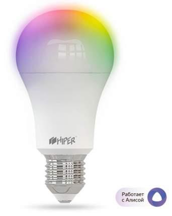 Умная лампа Wi-Fi HIPER IoT A61 RGB работает с Алисой (White)