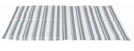 Коврик охлаждающий для собак TRIXIE 28774 текстиль, белый, серый, 65x50 см