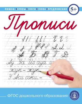 Прописи. Пишем буквы, слоги, слова, предложения.  (каллиграфические с заданиями и упраж...