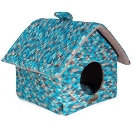 Дом-конура для животных Gamma Мозаика, 36x36x38 см