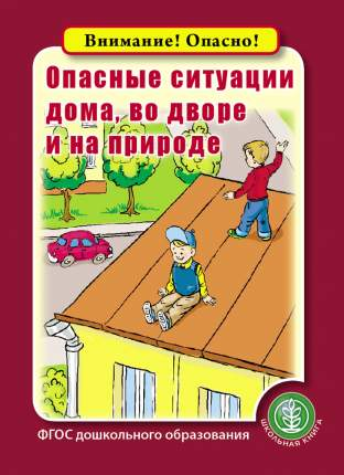 Опасные ситуации дома, во дворе и на природе. Серия: «Внимание! Опасно!»