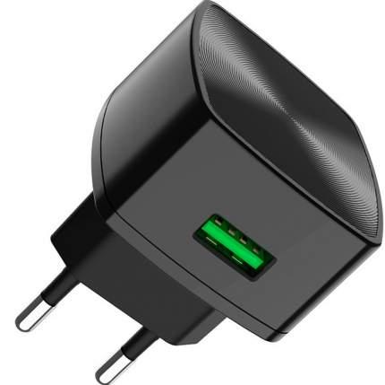 Сетевое зарядное устройство Hoco C70A Black