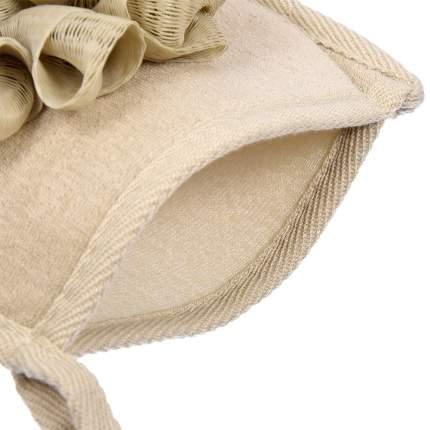 """Мочалка """"Королевский пилинг"""", рукавица с объёмными воланами,15х20см (Банные штучки), 41293"""