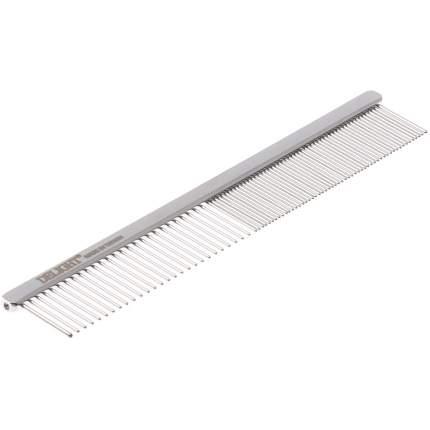 DeLIGHT Расчёска стальная профессиональная, хромовое покрытие, 13 см
