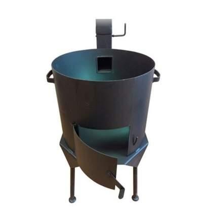 Печь для казана НФ-00000087 Премиум с дымоходом 16 л
