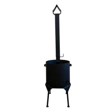 Печь для казана НФ-00000088 Премиум с дымоходом 22 л