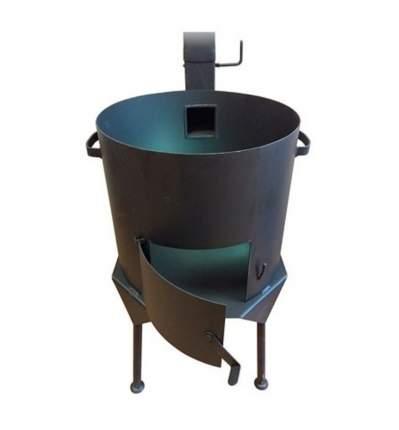 Печь для казана НФ-00000086 Премиум с дымоходом 12 л