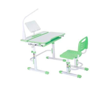 Комплект FunDesk парта + стул Botero Green + лампа L1