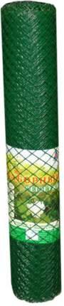Заборная решетка, арт З-40/1,5/10 Э, (ячея 40*40мм), 1,5x10 м, (хаки)