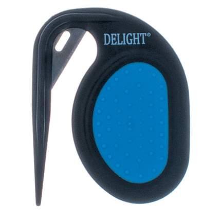 DeLIGHT Колтунорез-капля карманный, с одним лезвием