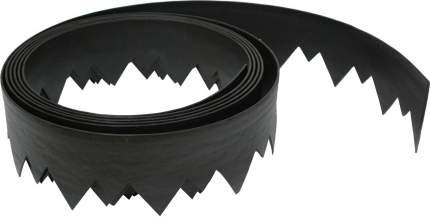 Бордюр КОРОНА, черный, L 5 м, H 150мм