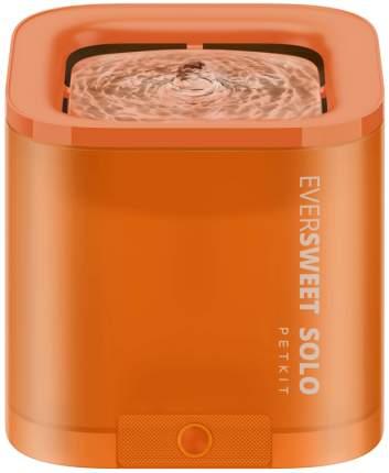 Автопоилка-фонтан для кошки, собаки Petkit Eversweet Solo, оранжевый, 1.85 л