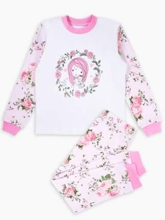 Пижама детская Веселый малыш, цв. разноцветный р.128