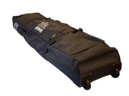 Сумка-чехол на колесиках для перевозки лыж и сноуборда Black (Neve)