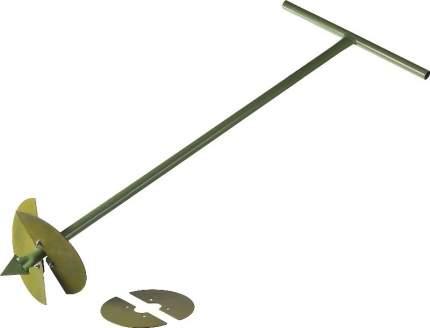 Бур садовый, со сменными ножами, 150 мм, 200мм, длина 1000мм (Росток)