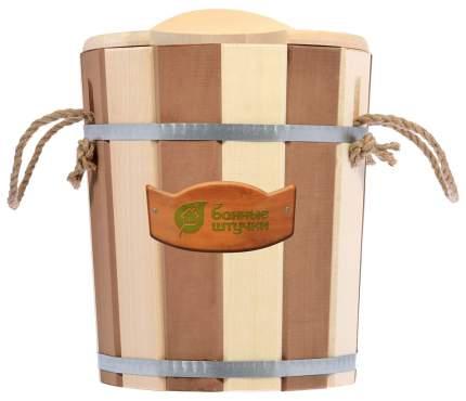 Запарник «Контраст» с пласт. вставкой, крышка (Банные штучки) 9л, 32421