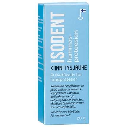 Isodent порошок для фиксации зубных протезов 20 гр