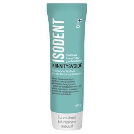 Isodent лечебный крем для фиксации зубных протезов 40 гр