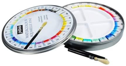 Набор акварельных красок PEBEO Aquarelle Fine с кистью, 24 цв арт, 300078