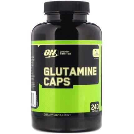 Optimum Nutrition Glutamine caps, 240 капсул