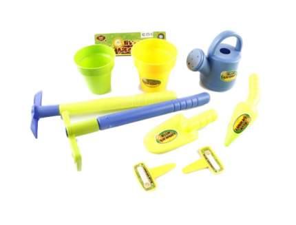 Игровой набор Наша игрушка Садовник 8 предметов, 979-16