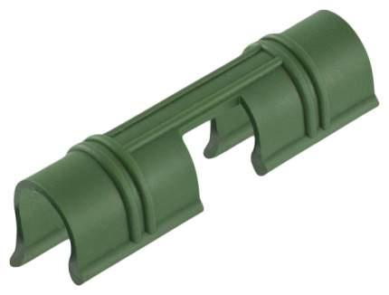 Универсальные зажимы для крепления пленки к каркасу парника d12мм зеленые PALISAD