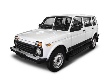"""Пороги на автомобиль """"Black"""" Rival ВАЗ 2131 (4x4) 5-дв. (вкл. Urban) 1993-, F180ALB.6004.1"""