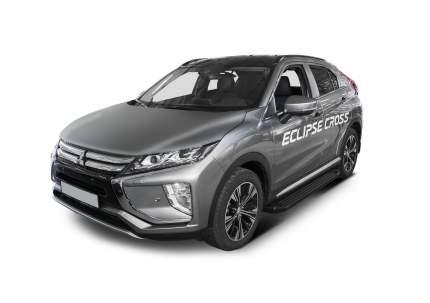 "Пороги на автомобиль ""Black"" Rival Mitsubishi Eclipse Cross 2018-2021, F180ALB.4007.1"