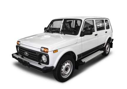 """Пороги на автомобиль """"Silver"""" Rival ВАЗ 2131 (4x4) 5-дв. (вкл. Urban) 1993-, F180AL.6004.1"""