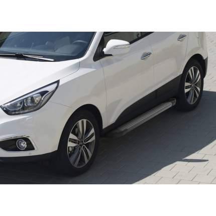 "Пороги ""Black"" Rival Hyundai ix35 2010-2015/Kia Sportage III 2010-2016, F173ALB.2303.2"