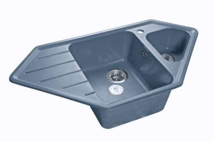 Мойка для кухни керамическая GranFest Corner C-950 E графит