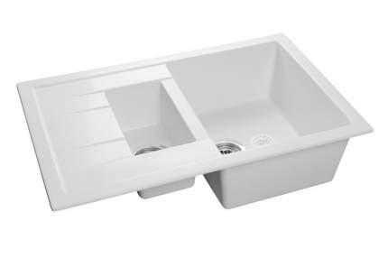 Мойка для кухни керамическая GranFest Quadro Q-775 KL иней