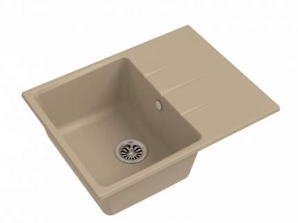 Мойка для кухни керамическая Ewigstein кварц Gerd 45F крем