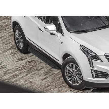 "Пороги алюминиевые ""Premium-Black"" Rival Cadillac XT5 , 193 см, 2 шт., A193ALB.0801.1"