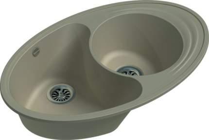 Мойка для кухни керамическая Ewigstein кварц Elegant W90KF крем