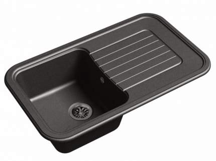 Мойка для кухни керамическая Ewigstein кварц Antik 60F черный