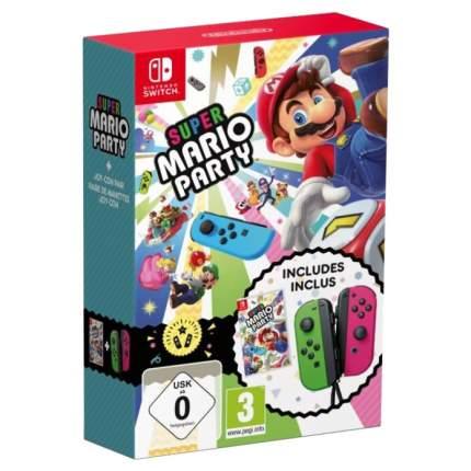 Геймпад Nintendo Switch Joy-Con Super Mario Party 868/9478 2шт Green/Pink