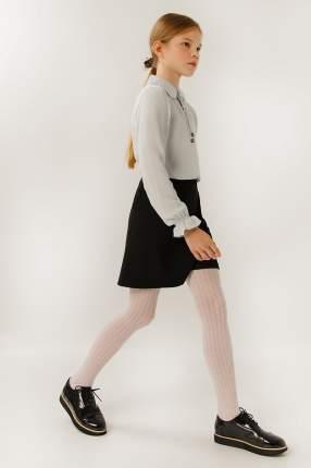 Блузка для девочек Finn-Flare, цв. голубой, р-р 146