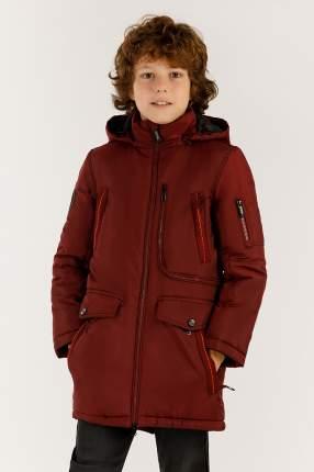 Куртка для мальчиков Finn-Flare, цв. бордовый, р-р 146
