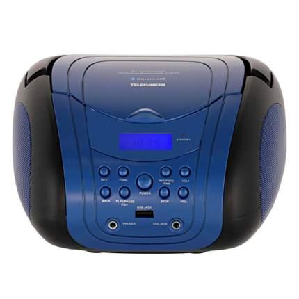 Магнитола Telefunken TF-CSRP3499B Blue/Black